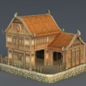 Vintage Rich Medieval House