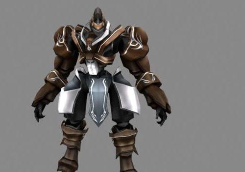Robot Warrior Character
