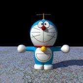 Robotic Character Cat Doraemon