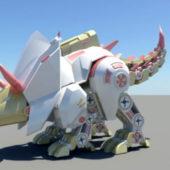 Robotic Triceratops Dinosaur