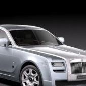 White Rolls-royce Ghost 4-door Saloon