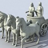Vehicle Roman War Chariot