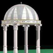 Roman Style Gazebo Pavilion Architecture