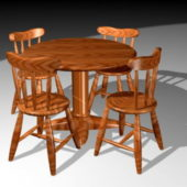 Round Dining Table Chair