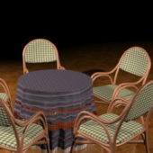 Round Patio Dining Furniture Sets