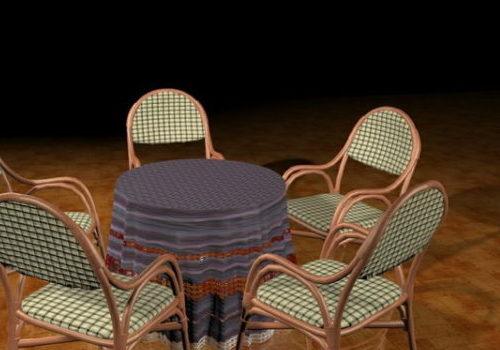 Round Patio Dining Furniture Sets Free