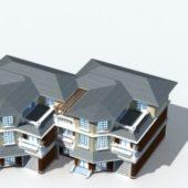 Western Row House Design