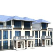 Building Row Houses Design