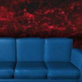 Royal Blue Sofa Home Furniture