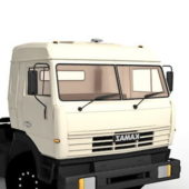 Russia Kamaz Truck Car