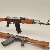 Soviet Ak-74 Rifle Gun