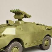 Brdm Russian Fighting Vehicle