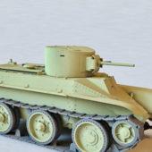 Russian Military Bt-2 Cavalry Tank