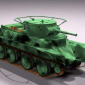 Soviet Bt-5 Tank