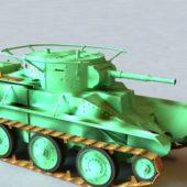 Russian Military Bt-5 Tank