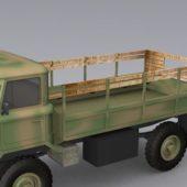 Russian Gaz-66 Military Truck