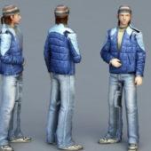 Russian Guy Character