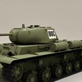 Military Russian Kv1s Tank
