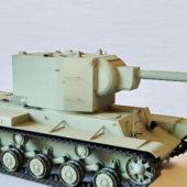 Russian Military Kv-2 Tank