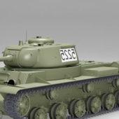 Soviet Ww2 Kv-85 Tank
