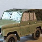 Soviet Military Uaz Vehicle