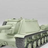 Soviet Su-152 Heavy Tank