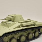 Russian Military T60 Tank