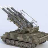 Military Missile System Sa-6 Gainful