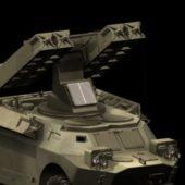 Military Sa-9 Gaskin Vehicle