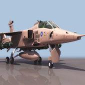 Sepecat Jaguar Strike Military Aircraft