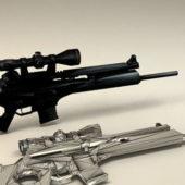 Military Sl8 Sniper Rifle Gun