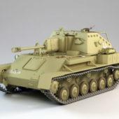 Soviet Su-76m Tank