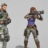 Character Swat Team