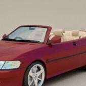 Convertible Car Saab 9-3 Aero