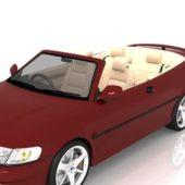 Saab 9-3 Convertible Car