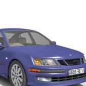 Purple Saab 9-5 Sedan Car