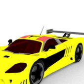 Yellow Saleen S7 Sport Car