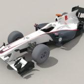Sauber F1 Racing Car