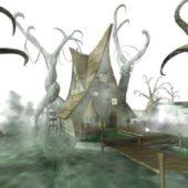 Scary House Pond