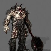 Scary Monster Demon Character