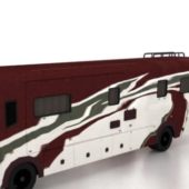 School Bus Camper Vehicle
