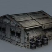 Sci-fi Building Barrack