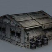 Sci-fi Building Barrack