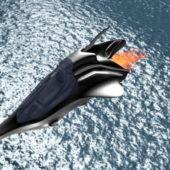 Fantasy Dropship Aircraft