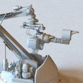 Sci-fi Gun Turret Design
