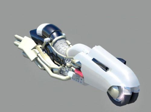 Sci-fi Fantasy Motorcycle