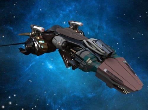 Sci-fi Starship Spacecraft
