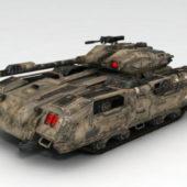 Sci-fi Military Tank