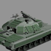 Sci-fi Tank With Armour