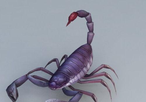 Cartoon Scorpion Animal